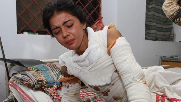 Sonia Bibi (21) verweigerte eine Zwangsheirat - und starb an schweren Verbrennungen. (Bild: Copyright 2016 The Associated Press. All rights reserved.)