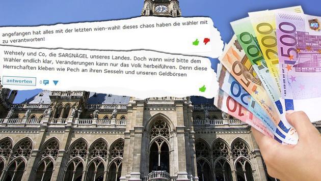 "Mindestsicherung: ""Wien wird Sozialamt Europas!"" (Bild: CHRIS KOLLER, APA/Hans Klaus Techt)"