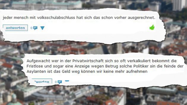 """Mindestsicherung: """"Wien wird Sozialamt Europas!"""" (Bild: APA/Helmut Fohringer, """"Krone"""")"""