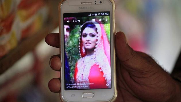 Samia Shahid wurde von ihrem Vater und Bruder ermordet. (Bild: AP)