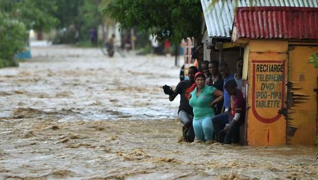 """Hurrikan """"Matthew"""" schrammte an Florida vorbei (Bild: AFP)"""