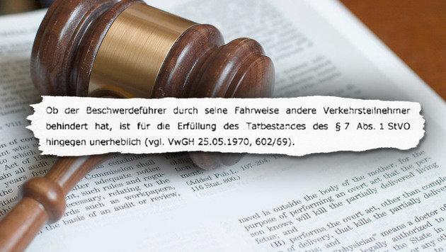 """""""Urteil: Radler dürfen in der Straßenmitte fahren (Bild: www.radlobby.at)"""""""