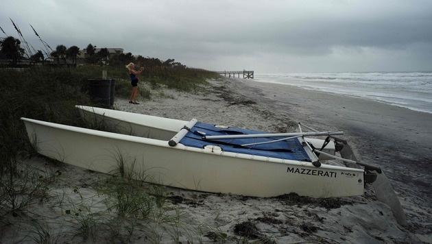 3 Mio. US-Bürger auf der Flucht vor Mega-Hurrikan (Bild: AFP)