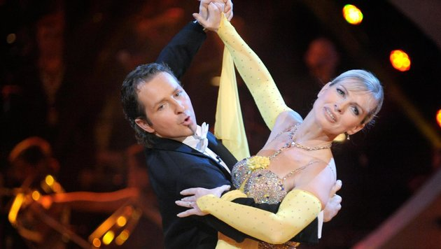 """Claudia Reiterer und ihr Tanzpartner Andy Kainz in der fünften Staffel von """"Dancing Stars"""" (Bild: APA-FOTO: ORF/ALI SCHAFLER)"""
