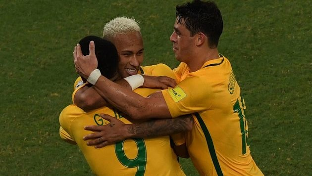 Brasilien feiert dritten Sieg unter Teamchef Tite (Bild: AFP)