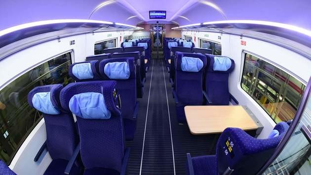 Deutsche Bahn verbessert Mobilfunkempfang in Zügen (Bild: AFP)