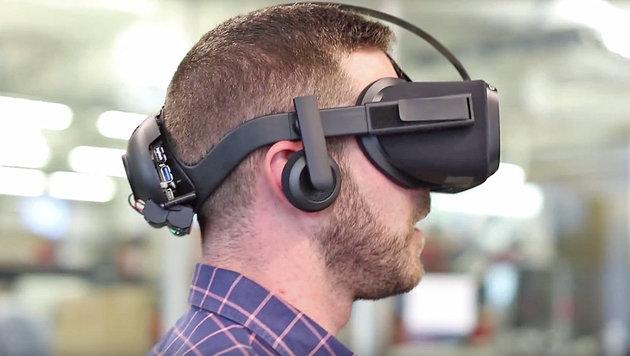 """Oculus enthüllt kabellose VR-Brille """"Santa Cruz"""" (Bild: Oculus)"""