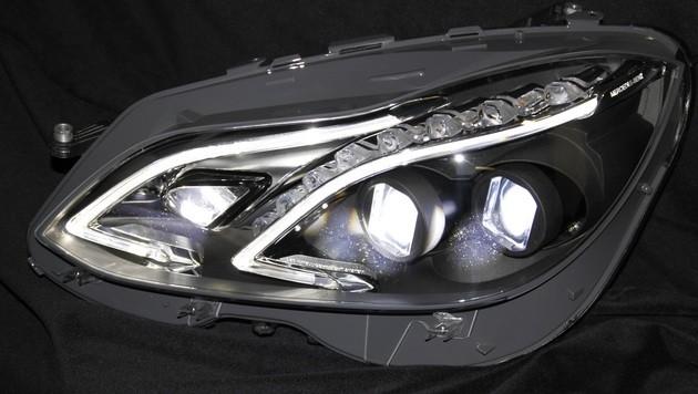 Smarter LED-Scheinwerfer blendet nachts nicht (Bild: Copyright: Hella KGaA)
