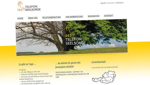 Telefonseelsorge bietet jetzt auch Chat-Beratung (Bild: telefonseelsorge.at)