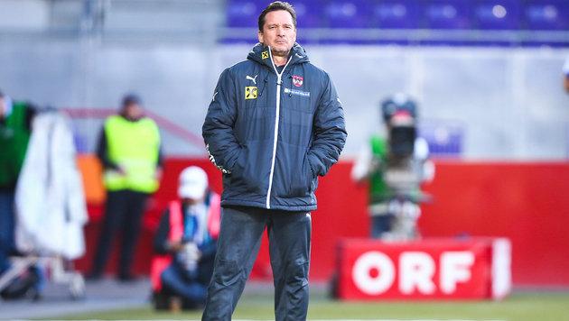 U21-Teamchef Werner Gregoritsch (Bild: GEPA)