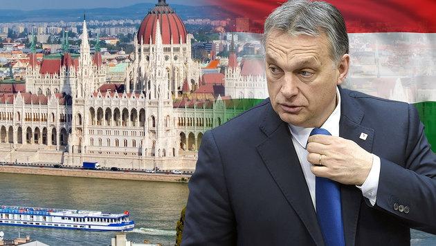 Ministerpräsident Orban kämpft gegen den Einfluss der Multis in Ungarn. (Bild: AFP/John Thys, thinkstockphotos.de)