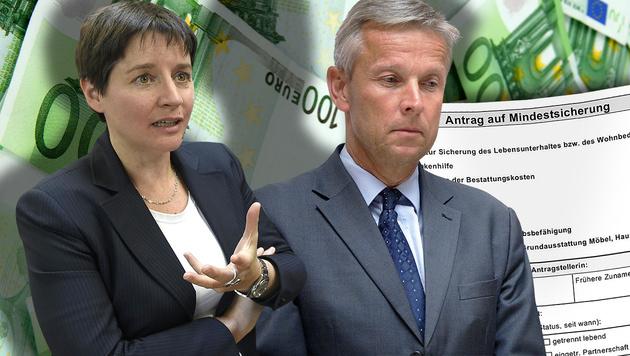 Wien: Jetzt streiten alle um die Mindestsicherung (Bild: APA/GEORG HOCHMUTH, APA/HELMUT FOHRINGER, thinkstockphotos.de)