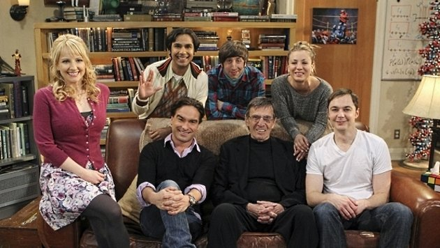 "Leonard Nimoy zu Gast bei ""The Big Bang Theory"" (Bild: CBS)"