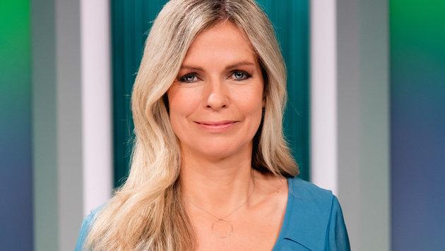 """Im Zentrum""-Moderatorin Claudia Reiterer (Bild: ORF)"