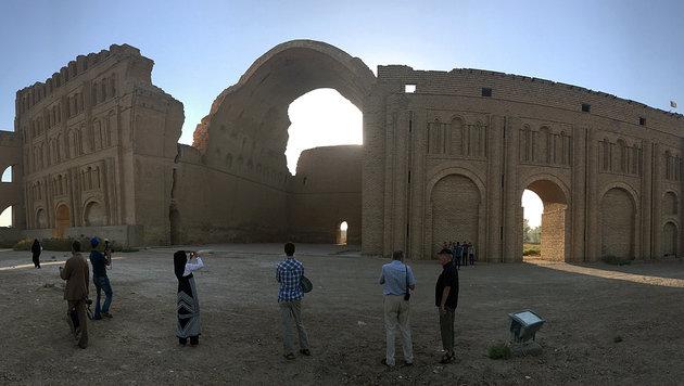 Weltkultur im Irak: der 2500 Jahre alte Bogen von Ctesiphon (Bild: Clemens Zavarsky)