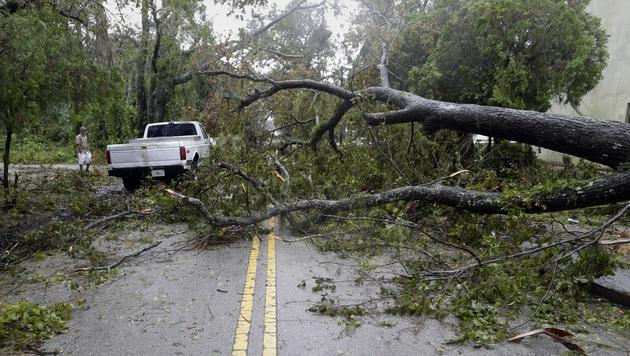 """Hurrikan """"Matthew"""" schrammte an Florida vorbei (Bild: AP)"""