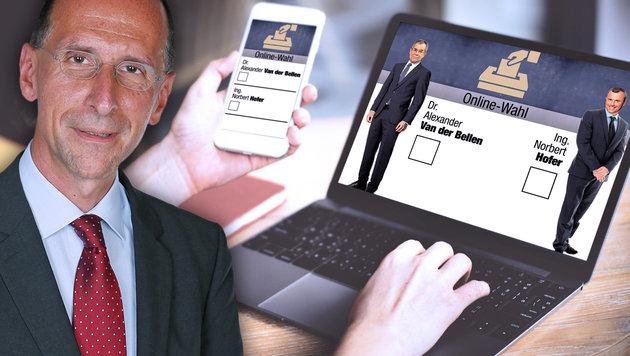 Internetwahlen: Was dafür und was dagegen spricht (Bild: Martin A. Jöchl, Kronen Zeitung)