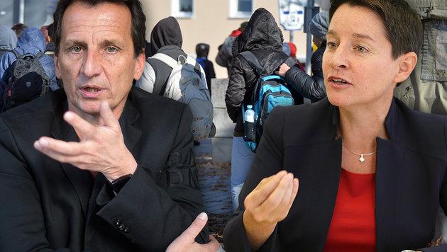 Mindestsicherung: SPÖ pocht auf Wohnsitzpflicht (Bild: APA/GEORG HOCHMUTH, APA/BARBARA GINDL, Gerhard Bartel)