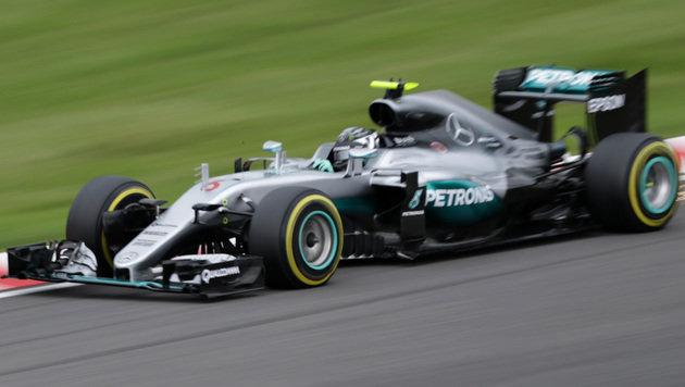 Pole für Rosberg vor Hamilton und Räikkönen (Bild: AFP)