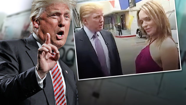 Wie Trump über Sex, Frauen und Grapschen spricht (Bild: AP/Chuck Burton, YouTube.com)