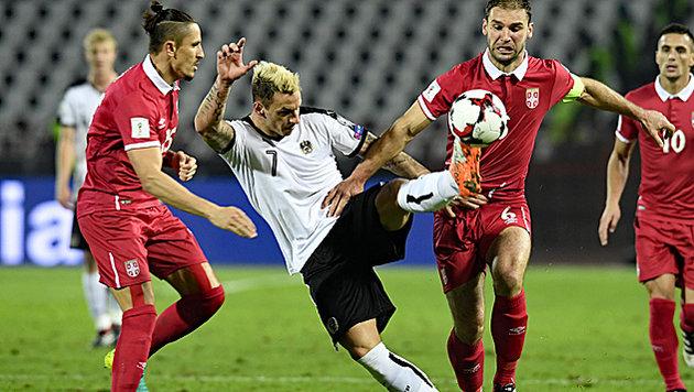 2:3-Pleite! Unser Team in Serbien wie Hühnerhaufen (Bild: APA/ROBERT JAEGER)