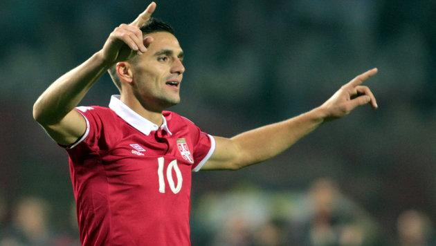 Der überragende Mann am Platz: Serbiens Dusan Tadic (Bild: GEPA)