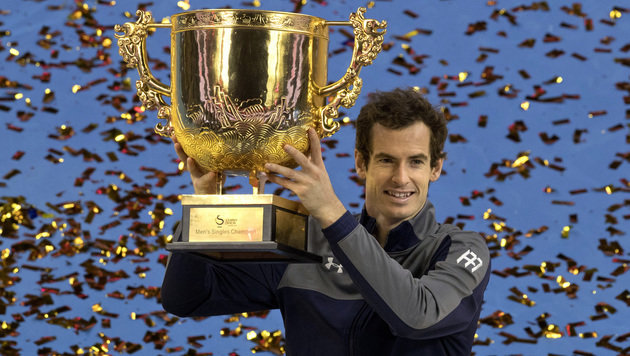Andy Murray triumphiert beim Turnier in Peking (Bild: Associated Press)