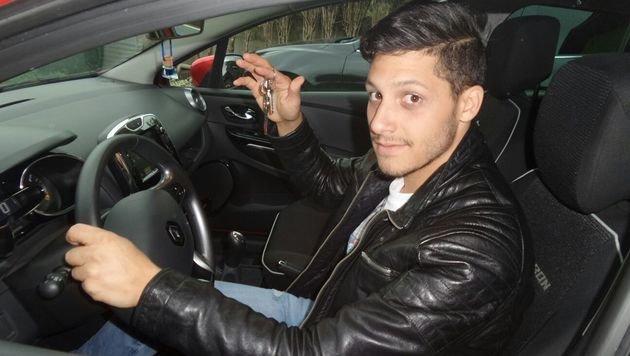 Mutig: Frederico Russo stoppte die Geisterfahrt des 38-jährigen Kuwaiters auf der A1. (Bild: Russo)