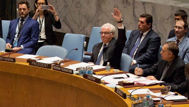 UN-Sicherheitsrat: Syrien-Resolutionen gescheitert (Bild: APA/AFP/Dominick Reuter)