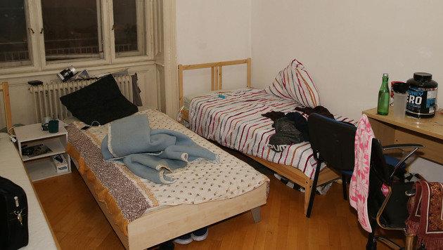 Wien: Hier leben 134 Flüchtlinge auf engstem Raum (Bild: Zwefo)