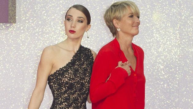 Emma Thompson mit Tochter Gaia Romilly (Bild: Viennareport)