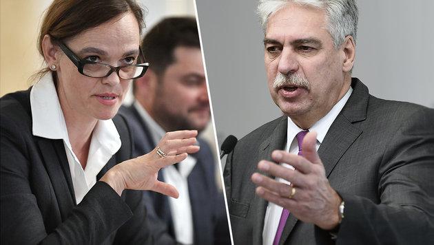 Bildungsministerin Hammerschmid und Finanzminister Schelling haben die Verhandlungen beendet. (Bild: APA/HANS KLAUS TECHT, APA/ROBERT JAEGER)