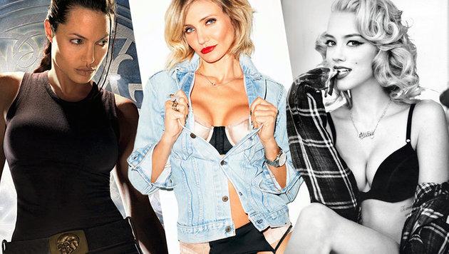 Das sind Hollywoods bisexuelle Sexbomben (Bild: Viennareport)