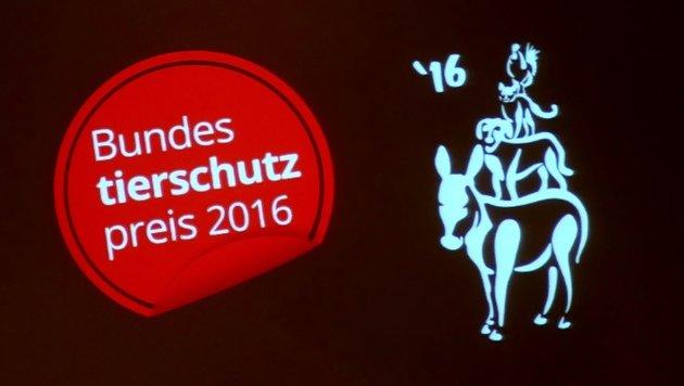 Die Preisträger des Bundestierschutzpreises 2016 (Bild: Gerhard Bartel)
