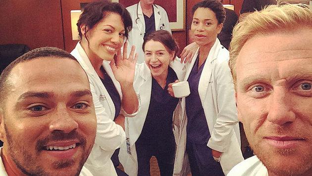 """Stars der Serie """"Grey""""s Anatomy"""" (Bild: Viennareport)"""