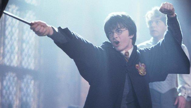 """Daniel Radcliffe als Harry Potter in """"Harry Potter und die Kammer des Schreckens"""" (Bild: CapFSD/face to face)"""
