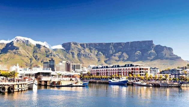 Der Tafelberg, das Wahrzeichen Kapstadts. (Bild: Fotolia)