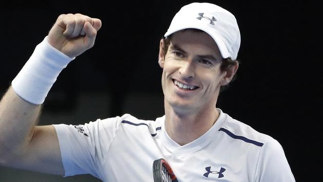 Murray schlägt beim Tie-Break-Krimi in Wien auf (Bild: AP)