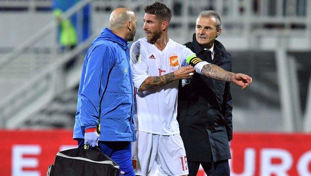 Schock für Real: Kapitän Ramos fällt 4 Wochen aus! (Bild: APA/AFP/ANDREJ ISAKOVIC)
