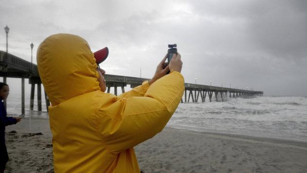 USA drohen künftig mehr Sturmfluten und Waldbrände (Bild: Associated Press)