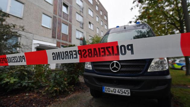 In diesem Wohnhaus wurde Jaber al-Bakr verhaftet. (Bild: Associated Press)