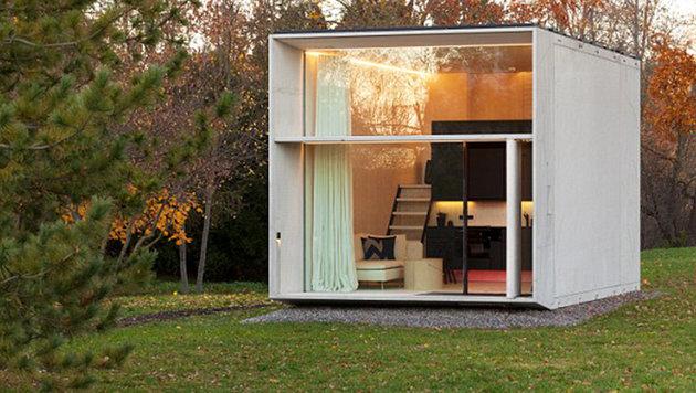 Koda ist ein kleines Haus, das an jedem Ort aufgestellt werden kann. (Bild: kodasema)