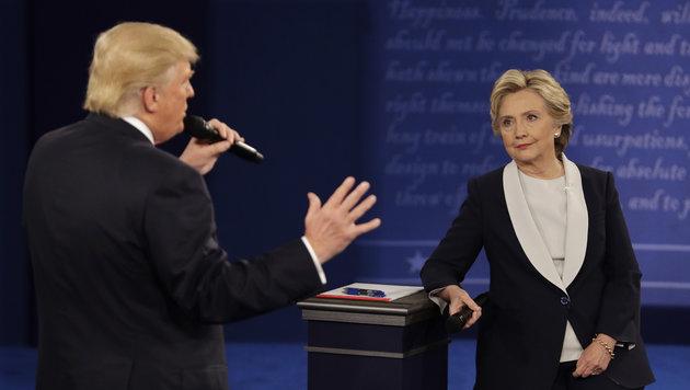 """Trump: """"Wenn ich siege, lasse ich Sie einsperren"""" (Bild: Associated Press)"""