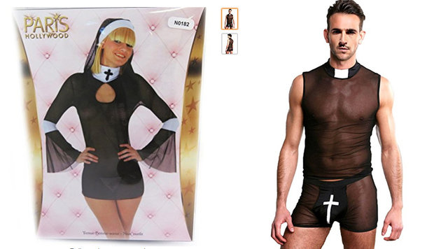 "Amazon bot ""sexy Burka"" als Halloween-Kostüm an (Bild: Screenshot amazon.co.uk)"