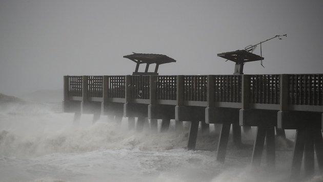 USA drohen künftig mehr Sturmfluten und Waldbrände (Bild: APA/AFP/Getty Images/Mark Wilson)