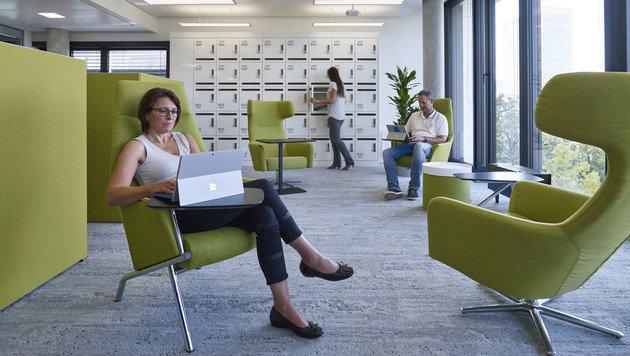 Microsoft will neue Welt des Arbeitens vorleben (Bild: Microsoft)