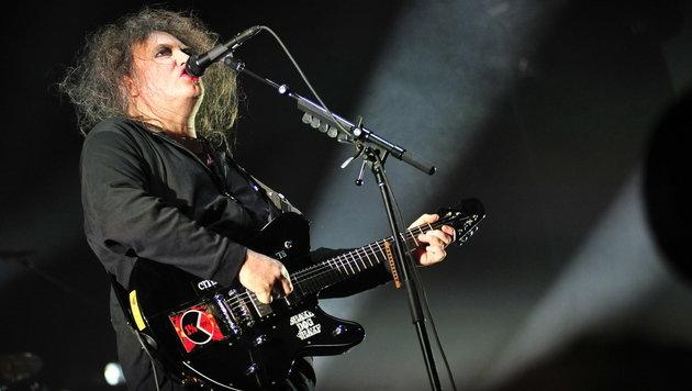 Goth-Rock-Legende The Cure live in Wien zu sehen (Bild: MIGUEL SIERRA/EPA)