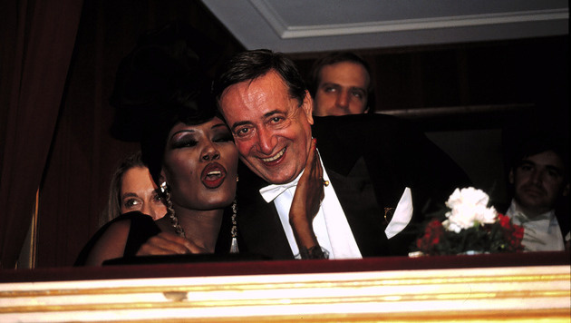 Grace Jones war wohl Richard Lugners skandalösester Opernball-Stargast. (Bild: Viennareport)