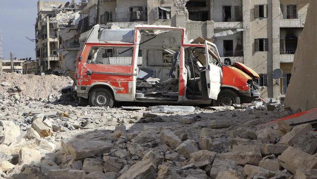 UNO fürchtet totale Vernichtung Ost-Aleppos (Bild: Associated Press)