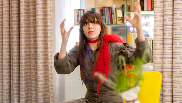 Le Butcherettes: Punk-Feminismus ohne Brechstange (Bild: Christoph Kaltenböck)